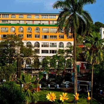 Hotel marvin à Goa vu de l'exterieur