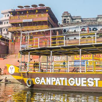 Partenaire Nouvini Inde : Ganpati Guest House Varanasi