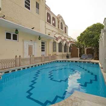 Hotel Jaipur Inde : Madhuban Hotel