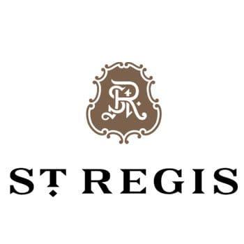 Ile maurice : le logo du saint regis hotel